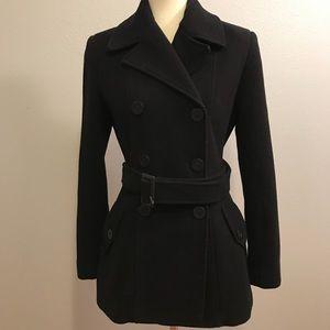 Calvin Klein size 6 wool pea coat
